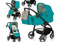 Hauck Lacrosse Blue green Travel System