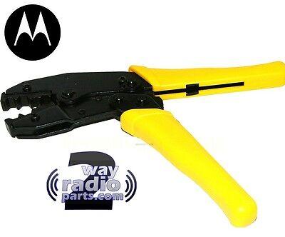 Real Oem Motorola Mini-uhf And Tnc Crimp On Antenna Coax Connector Tool New