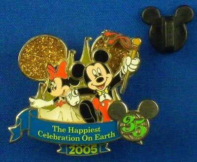 Mickey Minnie Happiest Celebration Magical Milestones LE OC Disney Pin # 48598