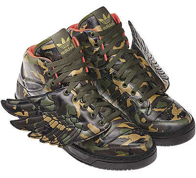 meet 500d8 b7e8d ADIDAS JEREMY SCOTT JS WINGS CAMO Sz.39 1 3 UK 6 money bear flag 2.0 G50726  gold