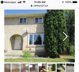 Cute Duplex small pet friendly for rent in Spruse Grove