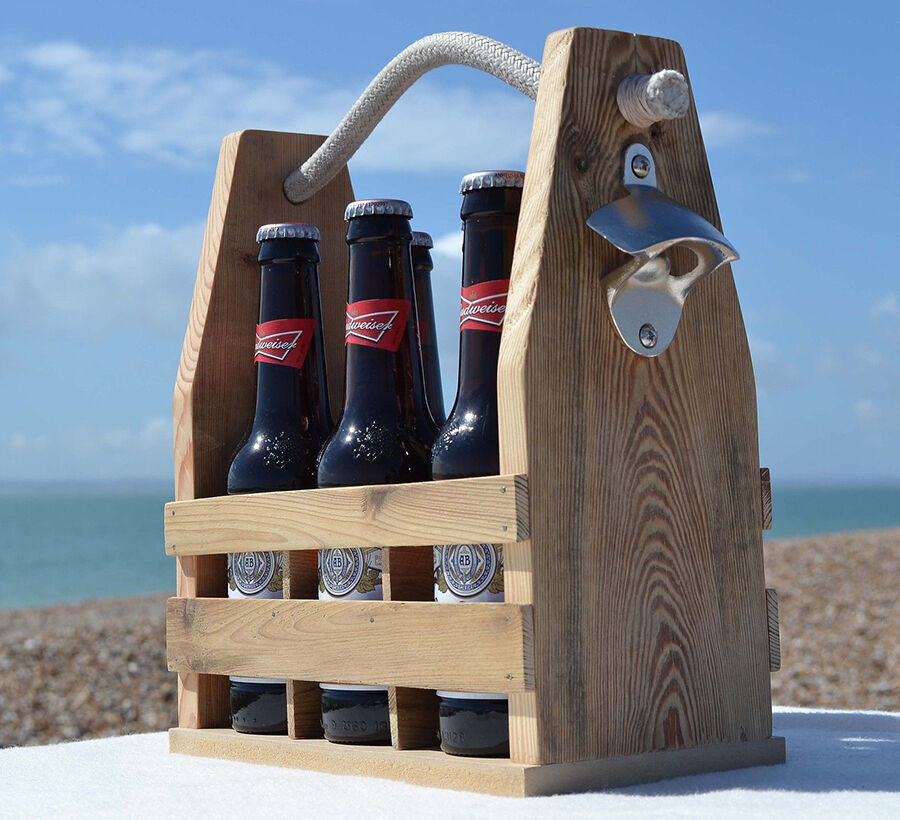 Old-fashioned Bottle Carrier