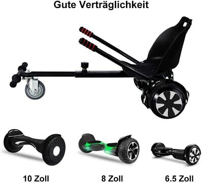 Scooter Kartsitz Race Hoverkart Sitz Hoverboard Kart Hoverseat für E-Scooter DE