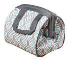 Canvas Gray Insulated Lunch Bag Lunch Containers