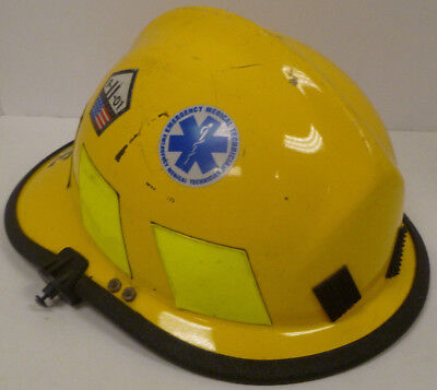 Cairns N660c 660c Yellow Firefighter Helmet Bunker Turn Out Fire Gear H187