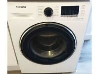 Samsung Ecobubble 8kg 1400 spin washing machine - White