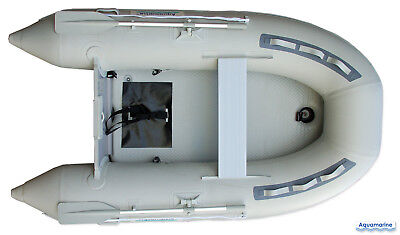 8.9 ft INFLATABLE BOAT with AIR FLOOR tender yacht dinghy fishing camping  for sale  Canada
