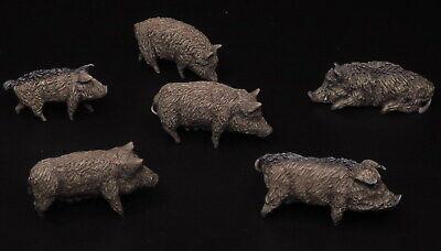 72102 Slawische Schweine 1/72 Resin