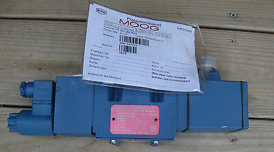 New Moog D66124757a Proportional Directional Valve Netstal 963.364.8029