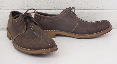 Cole Haan High-Quality Brown Leather Casual Shoes w/Gum Soles US Men's 10.5
