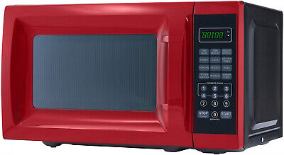 Microwave Oven Countertop 700W Removable Rotating Glass Turn