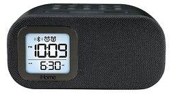 iHome Bluetooth Dual Alarm FM Clock Radio - Black (iBT210B) [LN]™