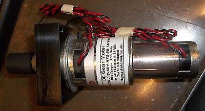 Sigma Dc Gear Motor Gmt9233-24v-381-htg-bb-tach-k01 150rpm 130 Oz-in  Dr1e2