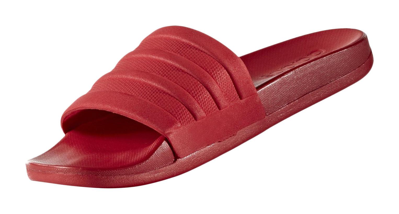 1da3794b3233 Mens adidas Adilette CF Mono Slides Sandals Black Cloudfoam Plus US ...