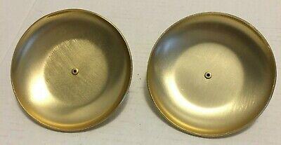 Communion Bread  Holder Insert  ~Artistic Churchware Gold Tone Set of 2 EUC