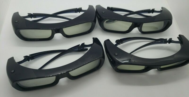 SONY TDG-BR250 3D Glasses/Lunettess/Okulary/Occhiali 3D Bravia, USED x4