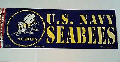 U.S. Navy Seabees Bumper Sticker