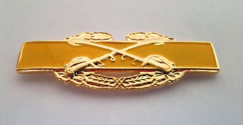 """COMBAT CAVALRY BADGE (1-9/16"""") US ARMY Military Hat Pin 16102 HO"""