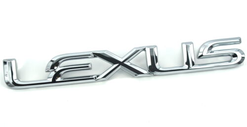 Genuine New LEXUS REAR BADGE Boot Trunk Emblem For IS MK3 200T 250 300h 2013+