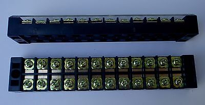 Wire Terminal Block Strip 45 Amp 12 Pole Tb4512