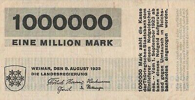 Herbert BAYER Hyperinflation Bank Note Weimar BAUHAUS 1923 Modernist Typography