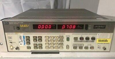 Hp 8903b Audio Analyzer Hewlett Packard Opt 001 Free Shipping