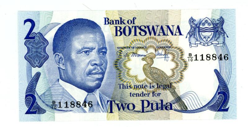 BOTSWANA ... P-7b ... 2 Pula ... ND(1982) ... *Choice UNC*