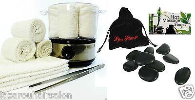 Beauty Salon Towel and Spa Stones Heater Set