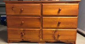 Pine Bedroom Dresser Putney Ryde Area Preview