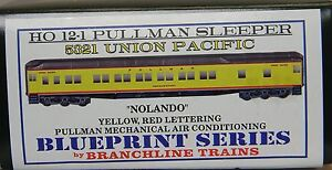 NIB-HO-Branchline-5321-12-1-Sleeper-Union-Pacific-Nolando-Kit