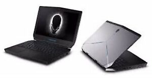 Alienware 13 gaming laptop with graphics amp