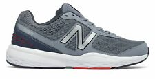 New Balance Men's 517v1 Shoes Grey with Grey & Red