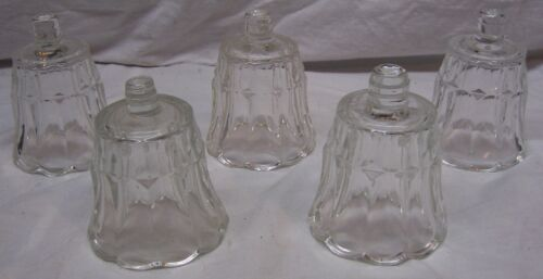HOME INTERIORS / HOMCO VOTIVE CUPS - 5 CLEAR STARLIGHT CUPS