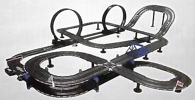 New! Top Racer TR-07A Electric Slot Car Race Track Deluxe Set with 2 Cars