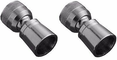 2 Alsons Maintenance Water Saving Small Shower Head Chrome F