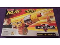 "Factory Sealed-NIB /""Target/"" Nerf Alpha Trooper CS-18 w//Drum Magazine FREE SHIP!!"