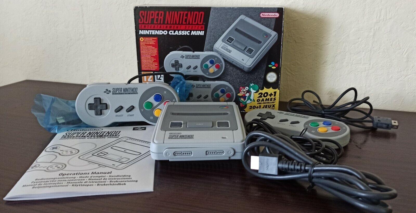 Super Nintendo Classic OVP 200 Spiele ! SNES Mini Retro 90er Zeitvertrag Top
