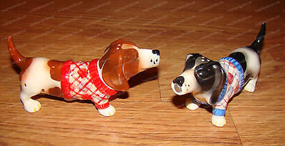 Sweaters, Basset HOUND DOG Salt & Pepper Shakers (Attractives, 8163)