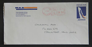 1984 Trans-Australia Airlines TAA commercial cover logo advertising QLD