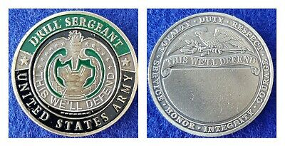 Challenge Coin: US ARMY Drill Sergeant-Ships from AZ, USA