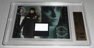X-Files I Want to Believe Pieceworks Variant AGENT WHITNEY AMANDA PEET BGS 9.5