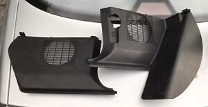 Bmw e36 coupe kick panel and speaker covers set