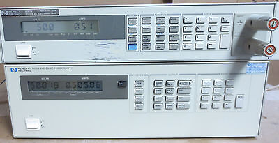 Agilent Hp 6626a Quad Variable Dc Power Supply Tested At Full Load - Option 750