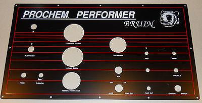 Nos New Old Stock Prochem Bruin Truckmount Instrument Panel Carpet Cleaning