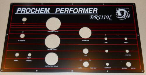 NOS, New Old Stock, Prochem Bruin Truckmount Instrument Panel, Carpet Cleaning