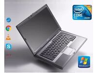 FAST Dell Latitude D630 Intel Core 2 Duo 3GB RAM 160GB HDD WIFI WINDOWS 7 Laptop