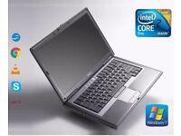 FAST Dell Latitude D830 Intel Core 2 Duo 3GB RAM 320GB HDD WIFI WINDOWS 7 Laptop