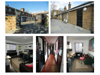Shepherds Bush - Gated Yard, First Floor Offices: 500 sq. ft. (46.45m2)