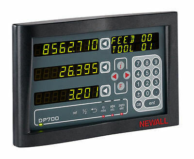 Newall Dp700 3 Axis Digital Readout Dro Display For Milling