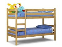 **OFFER**BRAND NEW Straight PINE BUNK BED MADE WITH SOLID WOOD*Split into two single beds